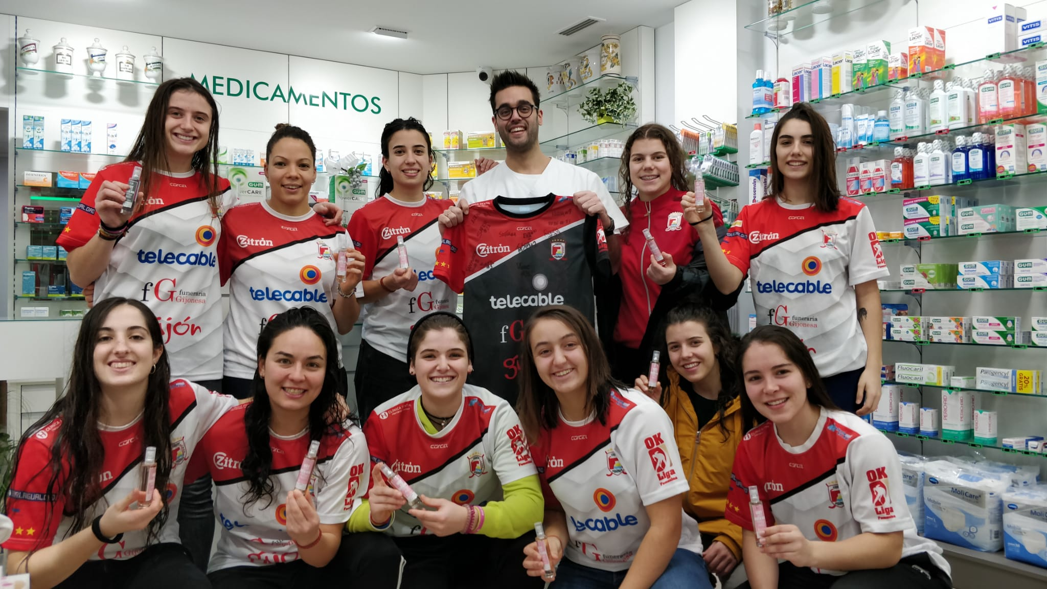 Visita Gijón Hockey Club